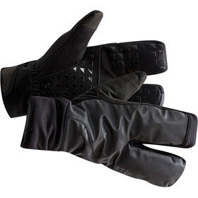 Craft Siberian 2.0 Split Finger Gloves black
